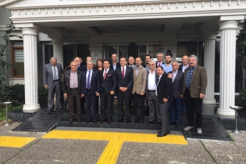 Yenişehir Belediye Başkan Adayımız Abdullah ÖZYİĞİT ile Toros Üniversitesi Ziyaretine Katılımımız.-05