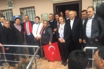 Tarsus Belediye Başkan Adayımız Haluk BOZDOĞAN ile Tarsus Esnafı Ziyaretine Katılımımız.-02