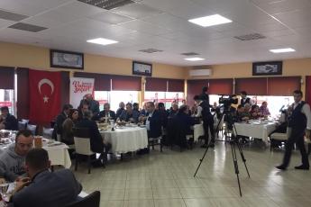 Mersin Büyükşehir Belediye Başkan Adayımız Vahap SEÇER ile Yenişehirdeki Muhtarlar Kahvaltısına Katılımımız.-03