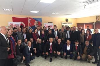 Mersin Büyükşehir Belediye Başkan Adayımız Vahap SEÇER ile Yenişehirdeki Muhtarlar Kahvaltısına Katılımımız.-06
