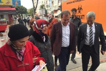 Mersin Büyükşehir Belediye Başkan Adayımız Vahap SEÇER ile Tarihi Zafer Çarşısı Esnafları Ziyaretine Katılımımız.-01