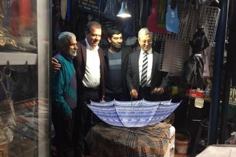 Mersin Büyükşehir Belediye Başkan Adayımız Vahap SEÇER ile Tarihi Zafer Çarşısı Esnafları Ziyaretine Katılımımız.-04