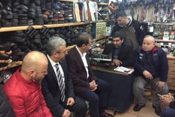 Mersin Büyükşehir Belediye Başkan Adayımız Vahap SEÇER ile Tarihi Zafer Çarşısı Esnafları Ziyaretine Katılımımız.-05