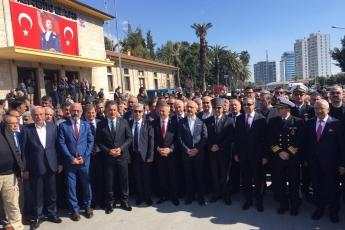Atatürk'ün Mersin'e Gelişinin 96.ncı Yılı Kutlamalarına Katılımımız.-04