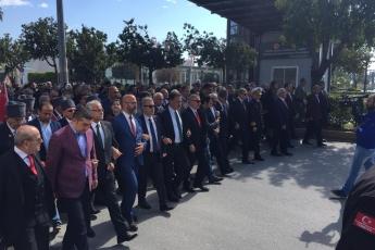 Atatürk'ün Mersin'e Gelişinin 96.ncı Yılı Kutlamalarına Katılımımız.-05