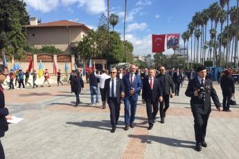 Atatürk'ün Mersin'e Gelişinin 96.ncı Yılı Kutlamalarına Katılımımız.-06