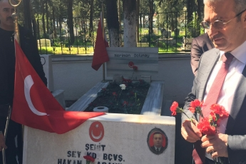 18 Mart Çanakkale Deniz Zaferi ve Şehitler Günü 104.Yıl Anma Programına Katılımımız.-03