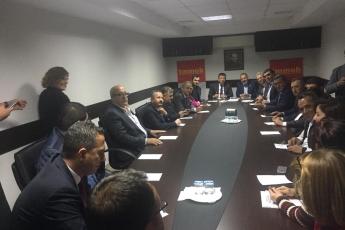 CHP Milletvekillerimiz ile TMMOB Toplantısına Katılımımız.