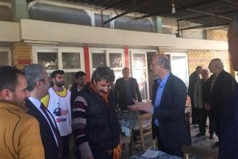 Milletvekilimiz Tekin Bingöl ve İlçe Başkanımız Ali İlk İle Tarsus'ta Esnaf Ziyaretine Katılımımız.-03