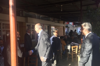Milletvekilimiz Tekin Bingöl ve İlçe Başkanımız Ali İlk İle Tarsus'ta Esnaf Ziyaretine Katılımımız.-04