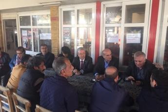 Milletvekilimiz Tekin Bingöl ve İlçe Başkanımız Ali İlk İle Tarsus'ta Esnaf Ziyaretine Katılımımız.-05