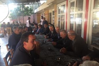 Milletvekilimiz Tekin Bingöl ve İlçe Başkanımız Ali İlk İle Tarsus'ta Esnaf Ziyaretine Katılımımız.-06
