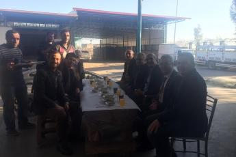 Milletvekilimiz Tekin Bingöl ve İlçe Başkanımız Ali İlk İle Tarsus'ta Esnaf Ziyaretine Katılımımız.-07