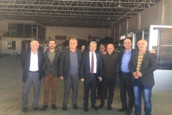 Milletvekilimiz Tekin Bingöl ve İlçe Başkanımız Ali İlk İle Tarsus'ta Esnaf Ziyaretine Katılımımız.-08