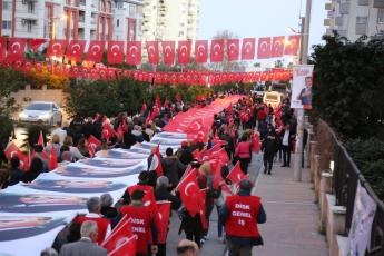 Mezitli 18 Mart Çanakkale Zaferi Yürüyüşü ve Demokrasi Meydanı Şölenine Katılımımız.-01