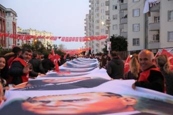 Mezitli 18 Mart Çanakkale Zaferi Yürüyüşü ve Demokrasi Meydanı Şölenine Katılımımız.-02