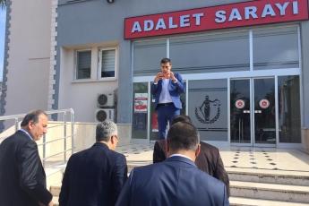 Anamur Belediye Başkan Adayımız Durmuş Deniz ve İlçe Örgütümüz İle Anamur Adliyesi ve Baro Avukatlarını Ziyarete Katılımımız.-01