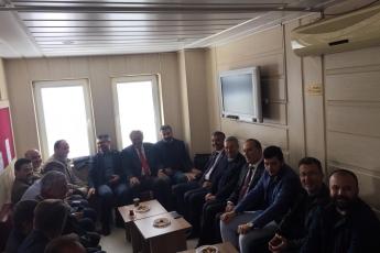 Anamur Belediye Başkan Adayımız Durmuş Deniz ve İlçe Örgütümüz İle Anamur Adliyesi ve Baro Avukatlarını Ziyarete Katılımımız.-04