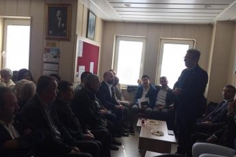 Anamur Belediye Başkan Adayımız Durmuş Deniz ve İlçe Örgütümüz İle Anamur Adliyesi ve Baro Avukatlarını Ziyarete Katılımımız.-05