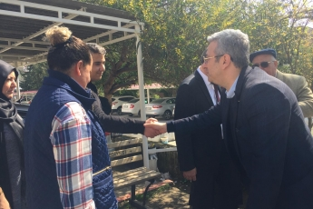 Anamur Belediye Başkan Adayımız Durmuş Deniz ve İlçe Örgütümüz İle Anamur Adliyesi ve Baro Avukatlarını Ziyarete Katılımımız.-06