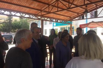 Mezitli Belediye Başkanı ve Adayımız Neşet TARHAN ile Halk Eğitimi Merkezini Ziyaretimiz.-01