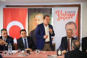 Büyükşehir Belediye Başkan Adayımız Vahap SEÇER ile Kanaat Önderleri Toplantısına Katılımımız.-01