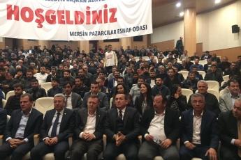 tatürk Kültür Merkezinde Mersin Belediye Başkan Adaylarımız ve Örgüt Temsilcilerimizle Pazarcılar Esnaf Odası Toplantısına Katılımımız.-01