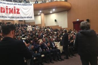 tatürk Kültür Merkezinde Mersin Belediye Başkan Adaylarımız ve Örgüt Temsilcilerimizle Pazarcılar Esnaf Odası Toplantısına Katılımımız.-02