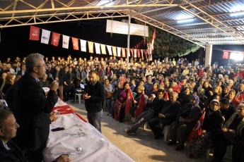 Mersin Silifke İlçesi Narlıkuyu CHP Mitingine Katılımımız.-04