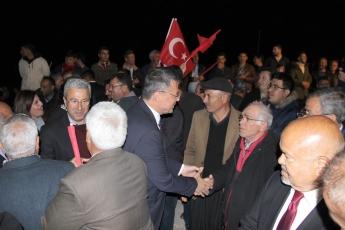 Mersin Silifke İlçesi Susanoğlu CHP Mitingine Katılımımız.01