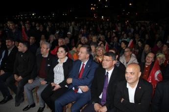 Mersin Silifke İlçesi Susanoğlu CHP Mitingine Katılımımız.02