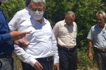 27.05.2020 Bozyazı ilçemizde yangında zarar gören ormanlarımız ve çiftçilerimizin seralarında oluşan zararları inceledik-3