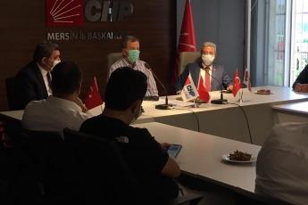 29.05.2020 CHP İl Başkanlığımızda Başkanımız ve Üyelerimizi Ziyaret-1