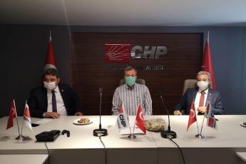29.05.2020 CHP İl Başkanlığımızda Başkanımız ve Üyelerimizi Ziyaret-2
