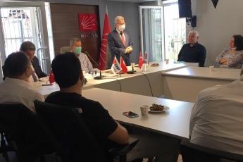 29.05.2020 CHP İl Başkanlığımızda Başkanımız ve Üyelerimizi Ziyaret-5