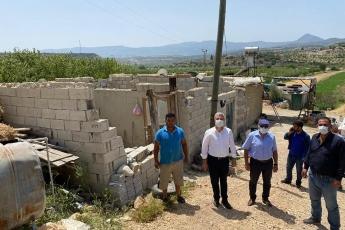 Mut ilçemizin Köselerli köyünde fırtınadan evi zarar gören vatandaşımızı Mut ilçe başkanımız Hayati Bağçalı ve yöneticilerimizle ziyaret ettik. Geçmiş olsun dileklerimizi ilettik.