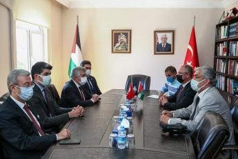Türkiye Filistin Dostluk Grubu olarak Filistin'in Ankara Büyükelçisi Sayın Faid Mustafa'yı ziyaret ettik. Haklı Filistin Davasında onların yanında olduğumuzu belirttik. Yaşanan insanlık dramını kınadık.