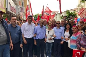 Tarsus'ta İşçi ve Emekçilerin Bayramı 1 Mayıs Tarsus Yürüyüşü ve Mitingine Katılımımız.-02