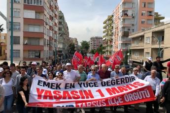 Tarsus'ta İşçi ve Emekçilerin Bayramı 1 Mayıs Tarsus Yürüyüşü ve Mitingine Katılımımız.-03
