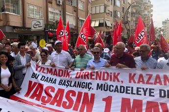 Tarsus'ta İşçi ve Emekçilerin Bayramı 1 Mayıs Tarsus Yürüyüşü ve Mitingine Katılımımız.-04