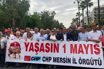 Mersin'de İşçi ve Emekçilerin Bayramı Mersin 1 Mayıs Yürüyüşü ve Mitingine Katılımımız.-01