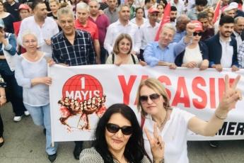 Mersin'de İşçi ve Emekçilerin Bayramı Mersin 1 Mayıs Yürüyüşü ve Mitingine Katılımımız.-04