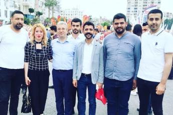 Mersin'de İşçi ve Emekçilerin Bayramı Mersin 1 Mayıs Yürüyüşü ve Mitingine Katılımımız.-06