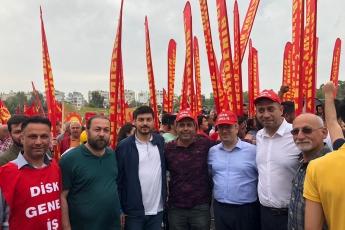 Mersin'de İşçi ve Emekçilerin Bayramı Mersin 1 Mayıs Yürüyüşü ve Mitingine Katılımımız.-07