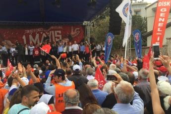 Mersin'de İşçi ve Emekçilerin Bayramı Mersin 1 Mayıs Yürüyüşü ve Mitingine Katılımımız.-10