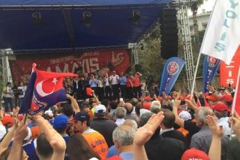 Mersin'de İşçi ve Emekçilerin Bayramı Mersin 1 Mayıs Yürüyüşü ve Mitingine Katılımımız.-11