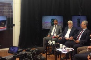 İÇEL TV Leyla Pak Köse ile Gündem ÖZEL Programı Canlı Yayınına Katılımımız.-02