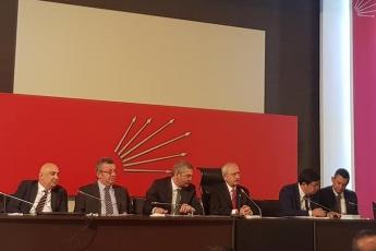 CHP Genel Merkezinde İstanbul Büyükşehir Belediye Başkanı Seçiminin İptaline Yönelik YSK Darbesi İle İlgili Değerlendirme Toplantısına Katılımımız.-01