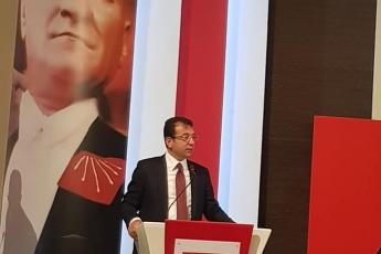 CHP Genel Merkezinde İstanbul Büyükşehir Belediye Başkanı Seçiminin İptaline Yönelik YSK Darbesi İle İlgili Değerlendirme Toplantısına Katılımımız.-02