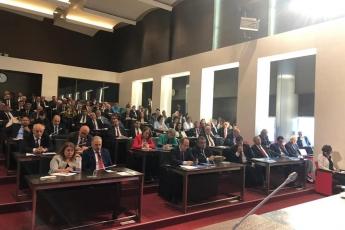 CHP Genel Merkezinde İstanbul Büyükşehir Belediye Başkanı Seçiminin İptaline Yönelik YSK Darbesi İle İlgili Değerlendirme Toplantısına Katılımımız.-03